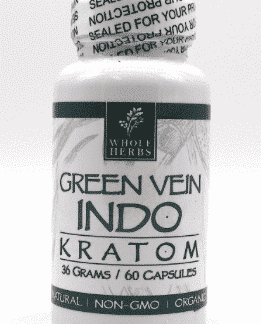 Indo Green Vein Whole Herbs 60ct