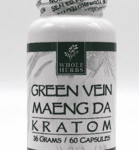 Maeng Da Green Vein Whole Herbs 60ct