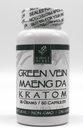 Maeng Da Green Vein Whole Herbs 60ct