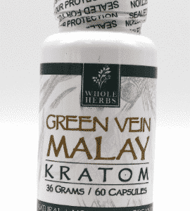 Malay Green Vein Whole Herbs 60ct