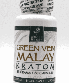 Malay Green Vein Whole Herbs 60ct