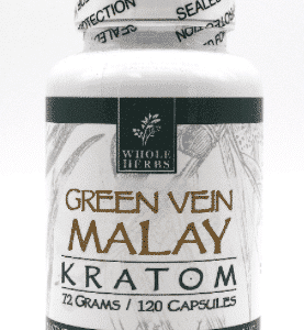 Malay Green Vein Whole Herbs 120ct