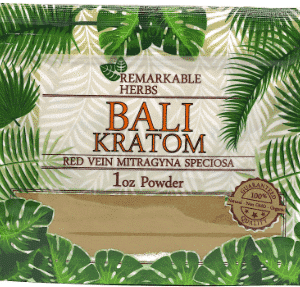 Remarkable Herbs Bali Kratom 1oz