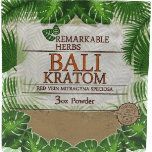 Remarkable Herbs Bali Kratom 3oz