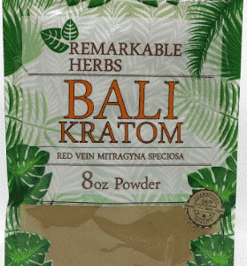 Remarkable Herbs Bali Kratom 8oz