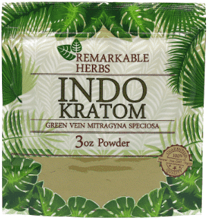 Remarkable Herbs Indo Kratom 3oz