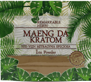 Remarkable Herbs Maeng Da Kratom 1oz