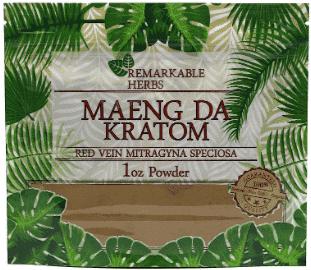 Remarkable Herbs Maeng Da Kratom 1oz