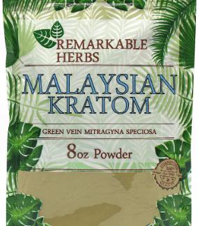 Remarkable Herbs Malaysian Kratom 8oz