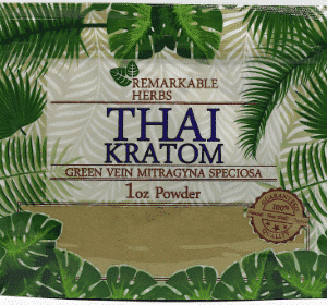 Remarkable Herbs Thai Kratom 1oz