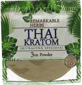 Remarkable Herbs Thai Kratom 3oz