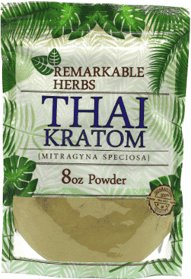 Remarkable Herbs Thai Kratom 8oz