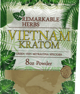 Remarkable Herbs Vietnam Kratom 8oz